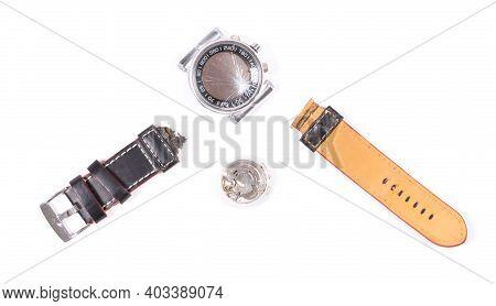Broken Watch Isolated