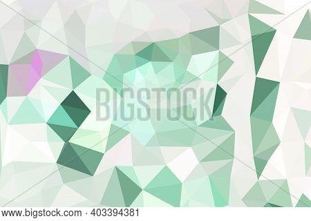 Colorful Gradient Mosaic Background. Geometric Triangle, Mosaic, Abstract Background. Mosaic, Color