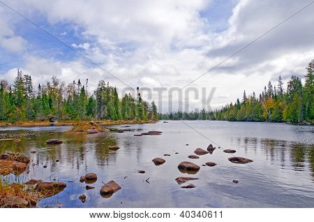 Shallows On A North Country Lake