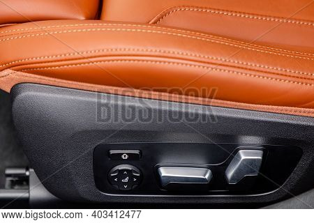 Settings Of Seat In A Modern Car