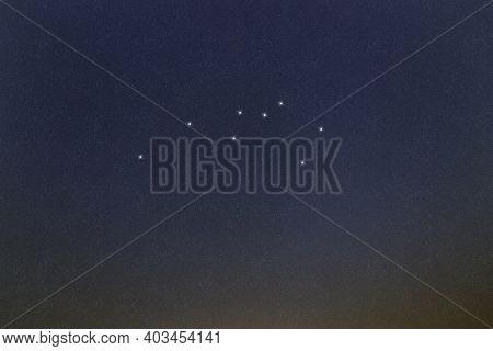 Sculptor Star Constellation, Night Sky, Cluster Of Stars, Deep Space, Sculptor Workshop, Sculptor St