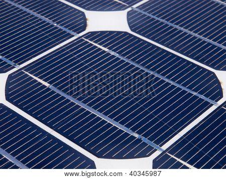 One Unit On A Solar Panel