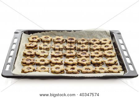 Pan With Cookies