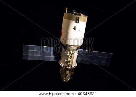 Russian Space Satellite Display