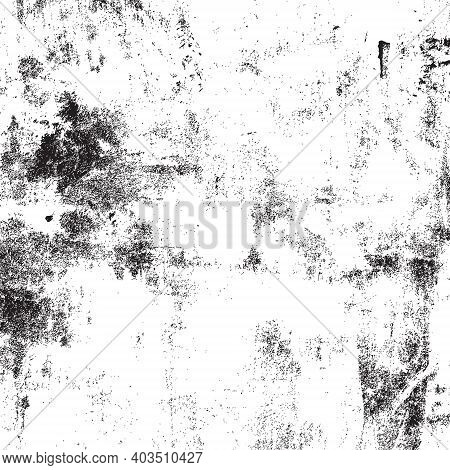 Distress Overlay Messy Grunge Texture For Making Your Design Aged. Empty Grunge Template. Eps10 Vect