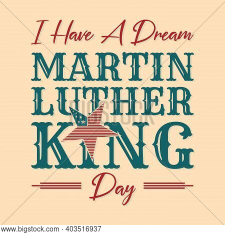 Mlk Or Martin Luther King Letter Emblem Design Vintage Style. Vector Illustration Eps.8 Eps.10