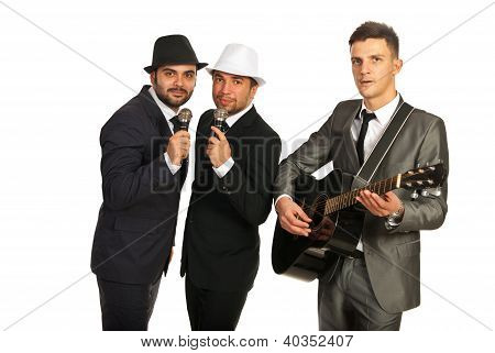 Musical Band Of Men
