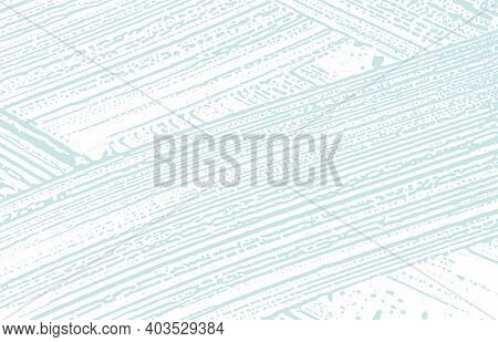 Grunge Texture. Distress Blue Rough Trace. Classy Background. Noise Dirty Grunge Texture. Ideal Arti