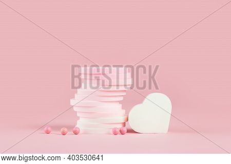 Beauty And Cosmetics Makeup Sponges Monochrome Pink