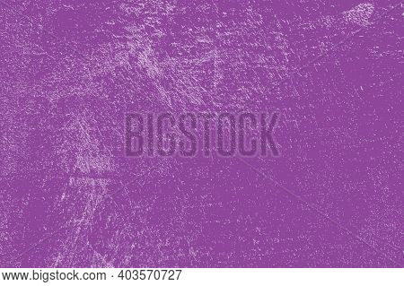 Grunge Color Lilac Background. Distress Dirty Texture. Empty Design Template. Eps10 Vector.
