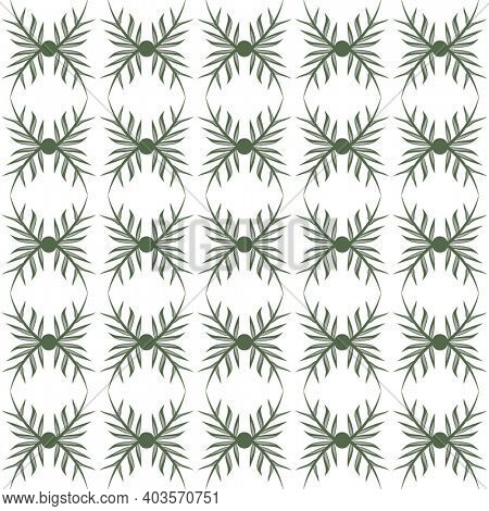 Seamless floral pattern and background