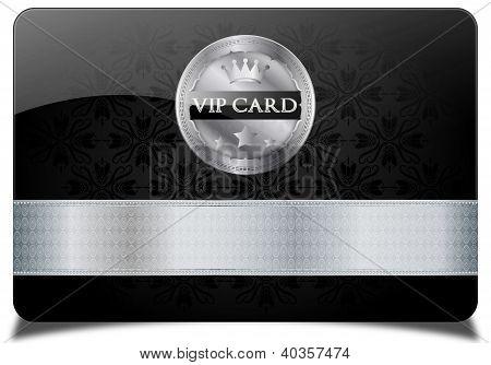 Silver vip card