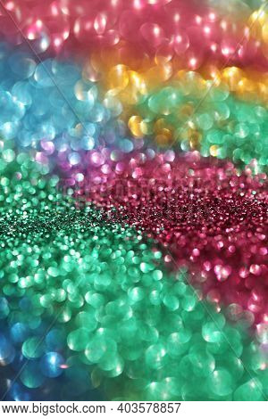 Wallpaper Phone Shining Glitter.glitter Radiance Surface. Variegated Glitter With Shining Bokeh.fest