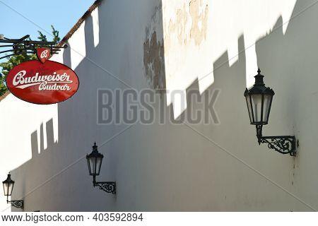 Prague - August 07, 2016: Old Town Architecture Details On August 07, 2016 In Prague, Czech Republic