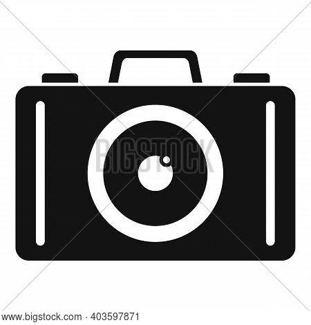 Guard Camera Icon. Simple Illustration Of Guard Camera Vector Icon For Web Design Isolated On White