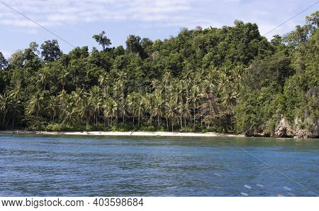 A Landscape View In Togian Islands