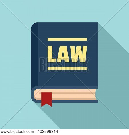 Policeman Law Icon. Flat Illustration Of Policeman Law Vector Icon For Web Design