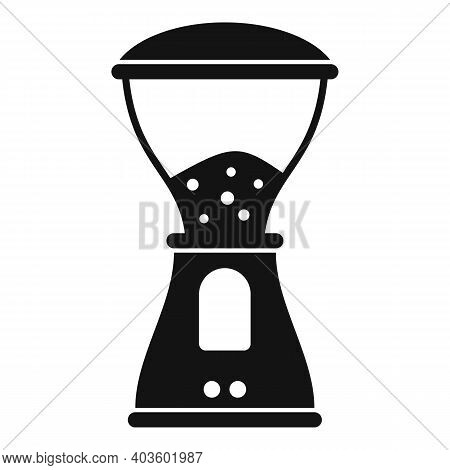 Coffee Electric Grinder Icon. Simple Illustration Of Coffee Electric Grinder Vector Icon For Web Des