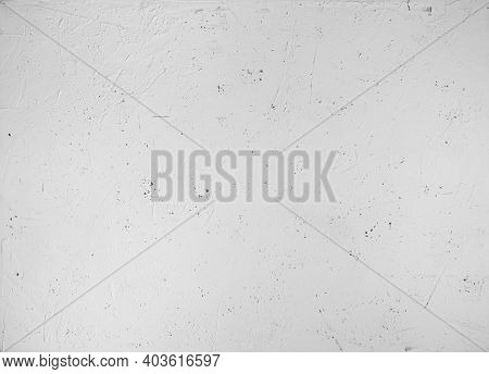 Food Photography White Wall Background. Empty Background Top View. Concrete Wall Texture.