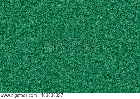 Green Terry Towel Background. Texture Of Terry Cloth