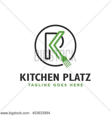 K Letter Food Restaurant Logo Design Your Company