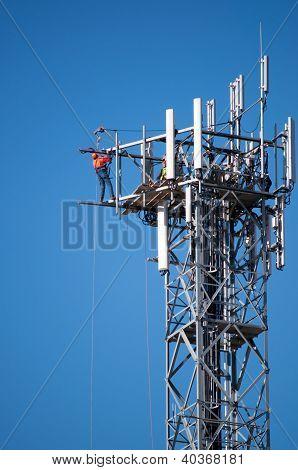 Maintenance Of A Communications Tower