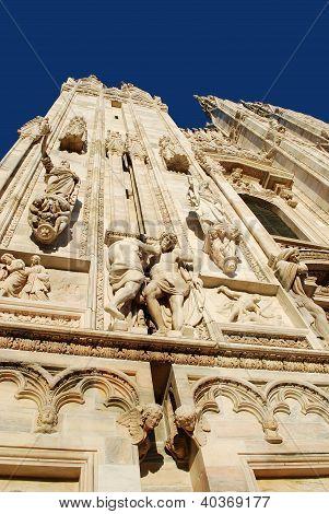 Milan Cathedral details