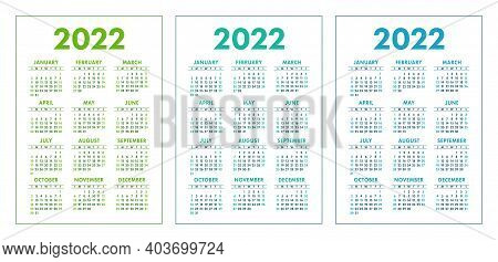 Calendar 2022 June July.Calendar 2022 Year Vector Photo Free Trial Bigstock