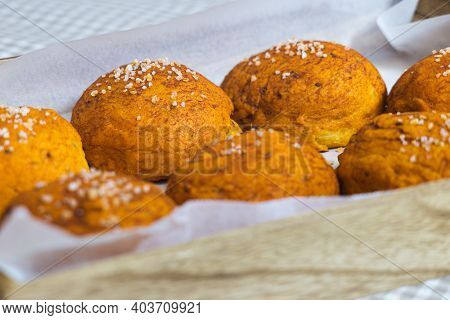 Ochío, Traditional Bakery Product Typical Of The Province Of Jaén, Spain