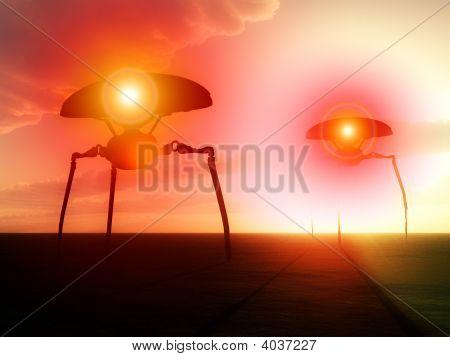Tripods Invasion