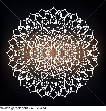 Luxury Mandala Background, Decorative Background With An Elegant Mandala Design, Luxury Mandala Isla