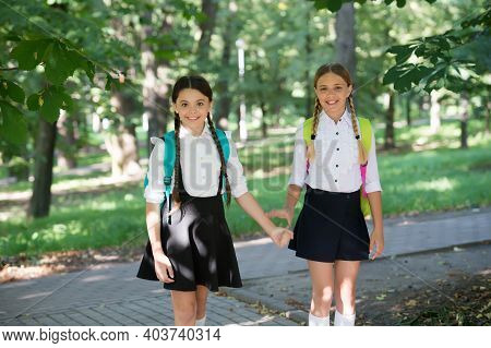 Educating Little Minds. Happy Children Back To School. School Uniform. Formal Fashion. Education And