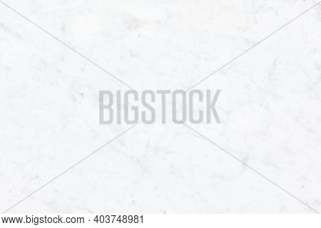 White Background With White Marble Texture In Top View New And Clean Surface. Natural Stone For Arch