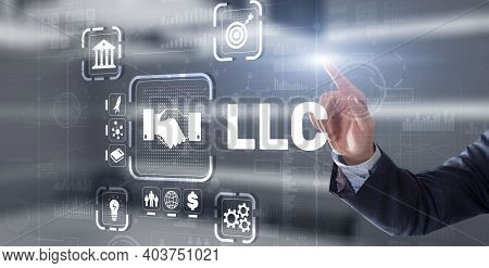 Llc. Limited Liability Company. Business Technology Internet.
