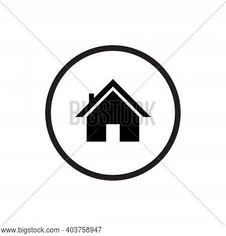 Homepage Icon Vector. House Symbol Image - Icon