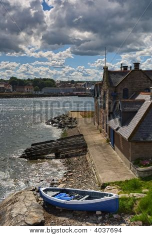 River Scene At Berwick Upon Tweed