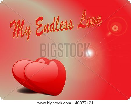 Valentine Love Card - My Endless Love II