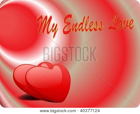 Valentine Love Card - My Endless Love III poster