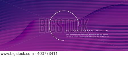 Fluid Background. Abstract Flow Shapes Movement. Color Gradient Brochure. Vector Business Template.