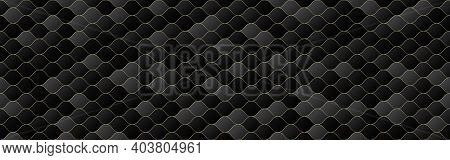 Black And Gold Gradient Color Wave Seamless Pattern Background, Line Geometric Texture, Minimal Desi