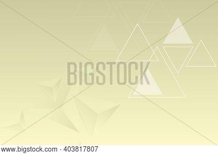 Geometric Triangular Futuristic Background. Modern Abstract Background Design Of Triangular Pyramids