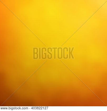 Abstract Orange Blurred Background. Vector Illustration. Bright Blurred Gradient Mesh Background