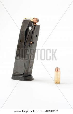 Bullet And Magazine
