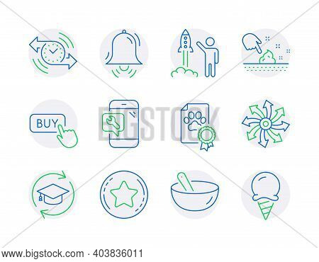 Business Icons Set. Included Icon As Skin Moisture, Cooking Mix, Continuing Education Signs. Versati