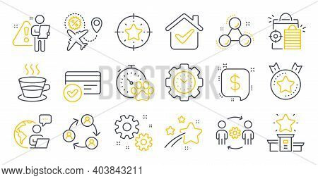 Set Of Line Icons, Such As Seo Shopping, Winner Podium, Payment Message Symbols. Payment Methods, Do