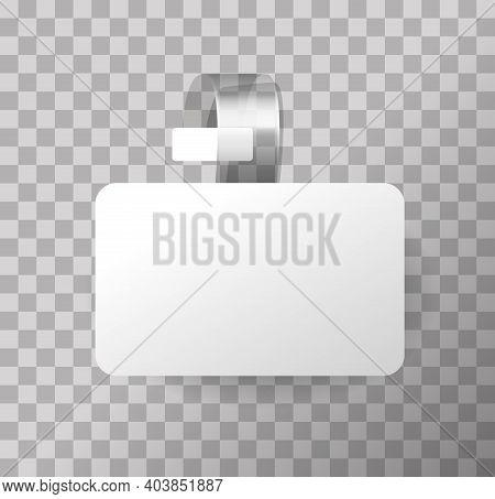 3d Blank White Round Wobbler. 3d Blank White Round Wobbler. Concept For Promotion Sale