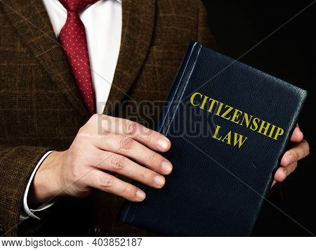Lawyer In The Suit And Citizenship Law.