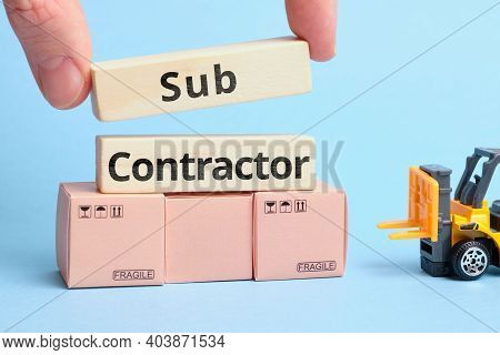 Courier Industry Term Sub Contractor. Couriers Working Under A Contract For A Transport Company