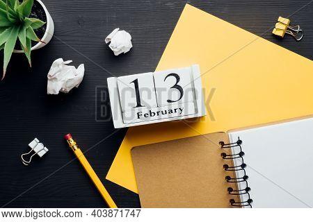 Thirteenth Day Of Winter Month Calendar February.