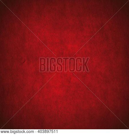 old dark paper, red background